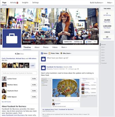 Stratégie social media marketing, Fan pages Facebook